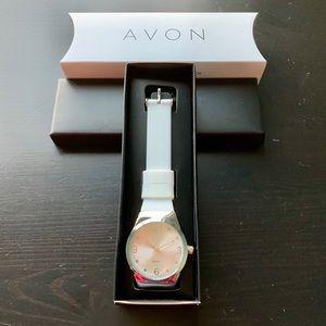Avon Springtime Silicone Watch
